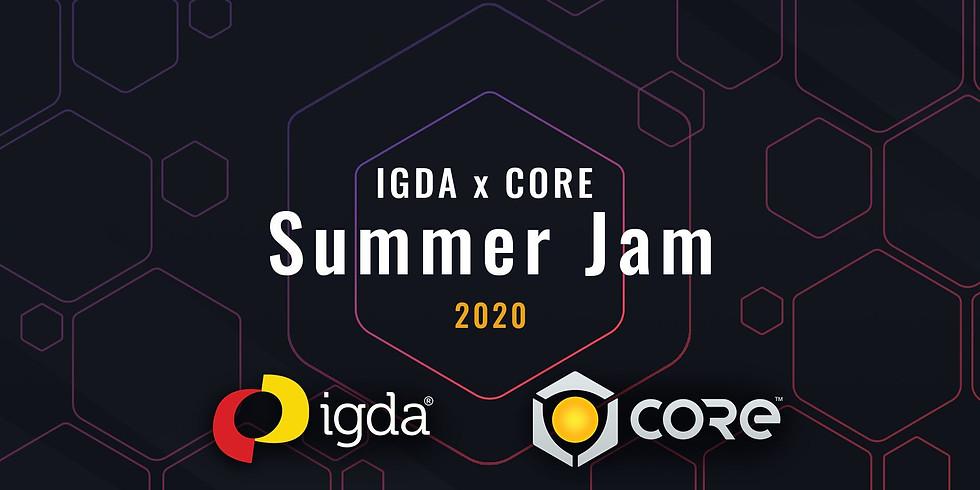 Three Weeks Summer Game Jam IGDA X Core