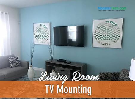 Reasons Why You Need A Mounted TV On The Living Room Wall