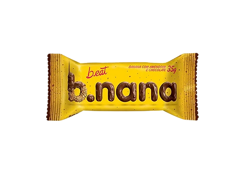 B.nana Amendoim e Chocolate
