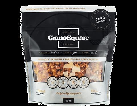 Granola Zero Açúcar - GranoSquare Premium