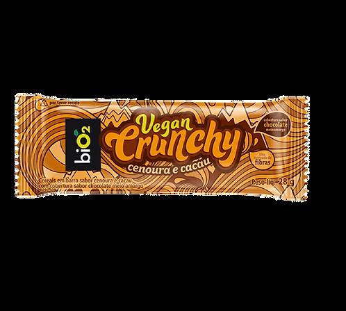 Barra de Cenoura com Cacau Vegana - Crunchy
