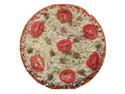 Pizza Grande de Lombo Low Carb (sob encomenda)