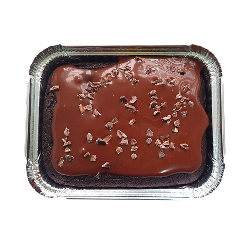 Bolo low carb de chocolate com chocolate