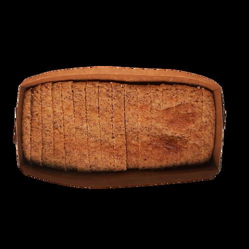 Pão low carb com bacon