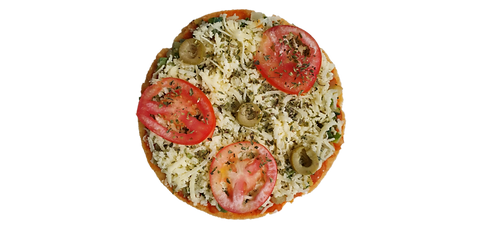 Pizza Brotinho Abobrinha Low Carb