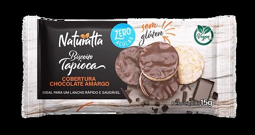 Biscoito de Tapioca com Chocolate Amargo