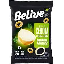 Snack Assado Sabor Cebola e Salsa - BELIVE