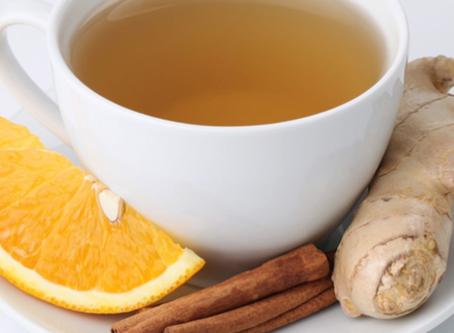 5 motivos básicos para tomar: Chá de gengibre