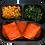 Thumbnail: Panqueca integral de carne, vagem com cenoura e couve