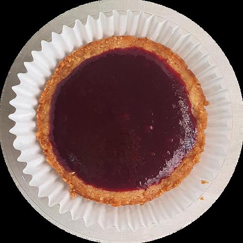Cheesecake low carb de amora