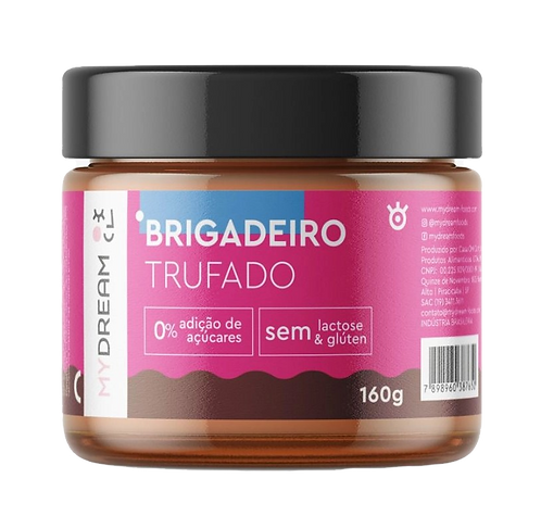 Brigadeiro Trufado Zero Glúten e Zero Lactose- My Dream