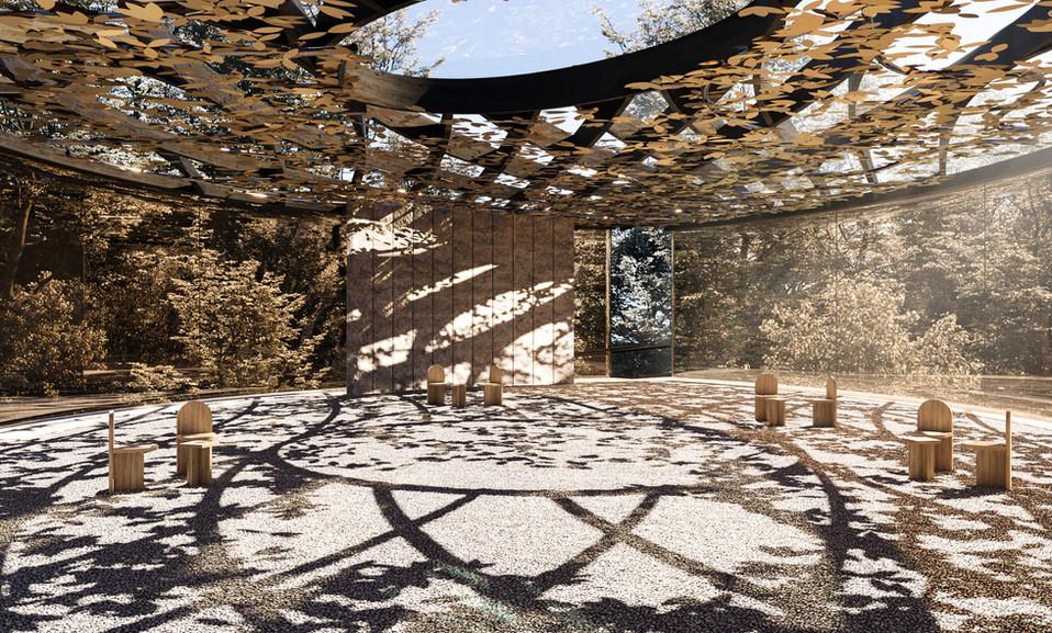 TERRA: A meditative playful pavilion