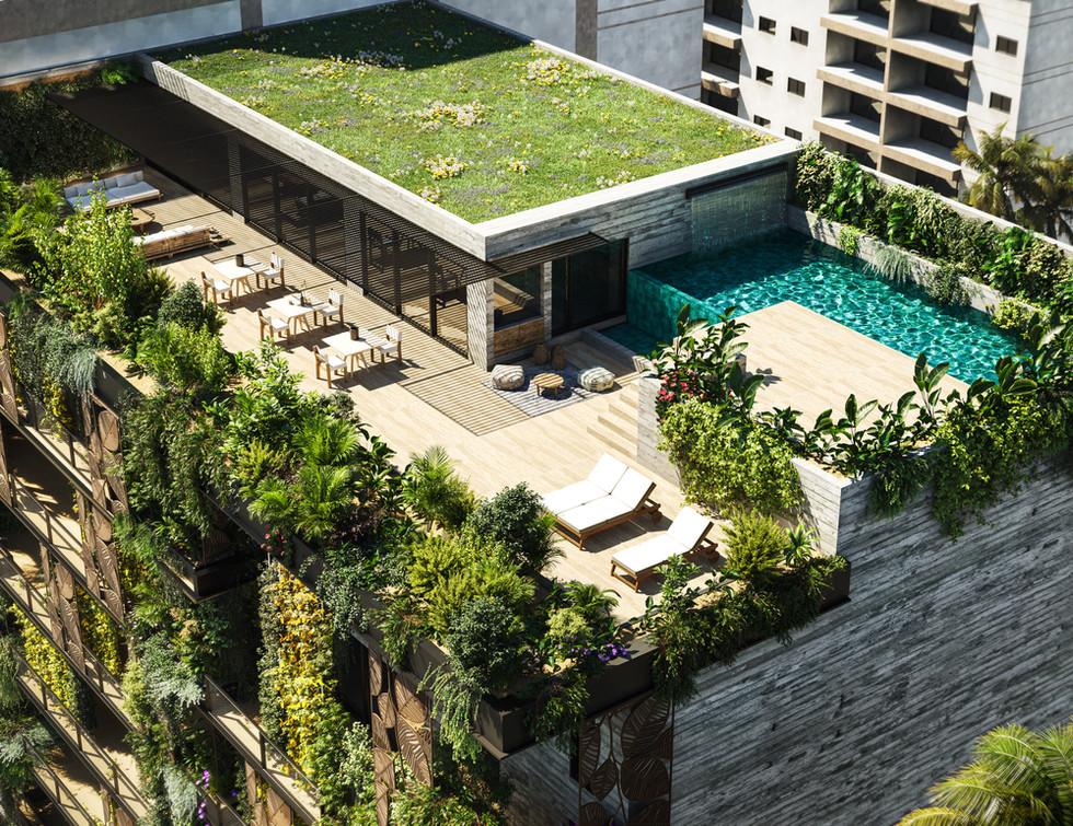 Green Building in Abidjan, Ivory Coast