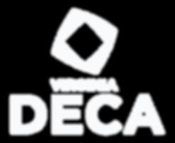 VA DECA Logo White Stacked.png