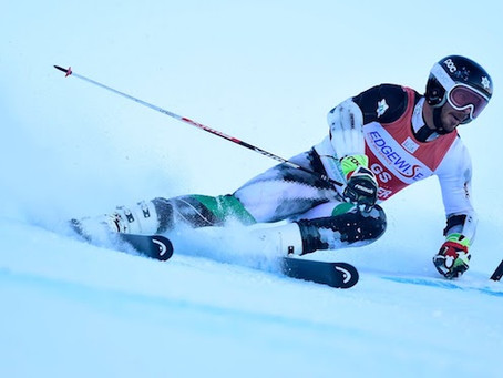 McLaughlin wins GS title; UVM jumps to early lead at NCAA Championships