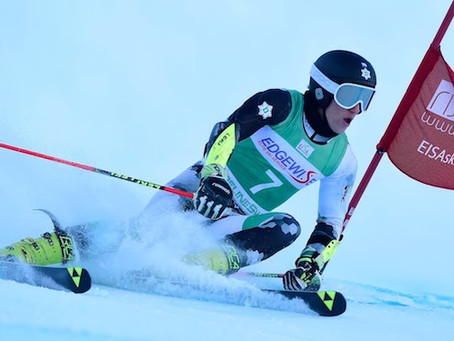 Dartmouth's Nef claims SL title; EISA takes 4 of 6 SL podium spots