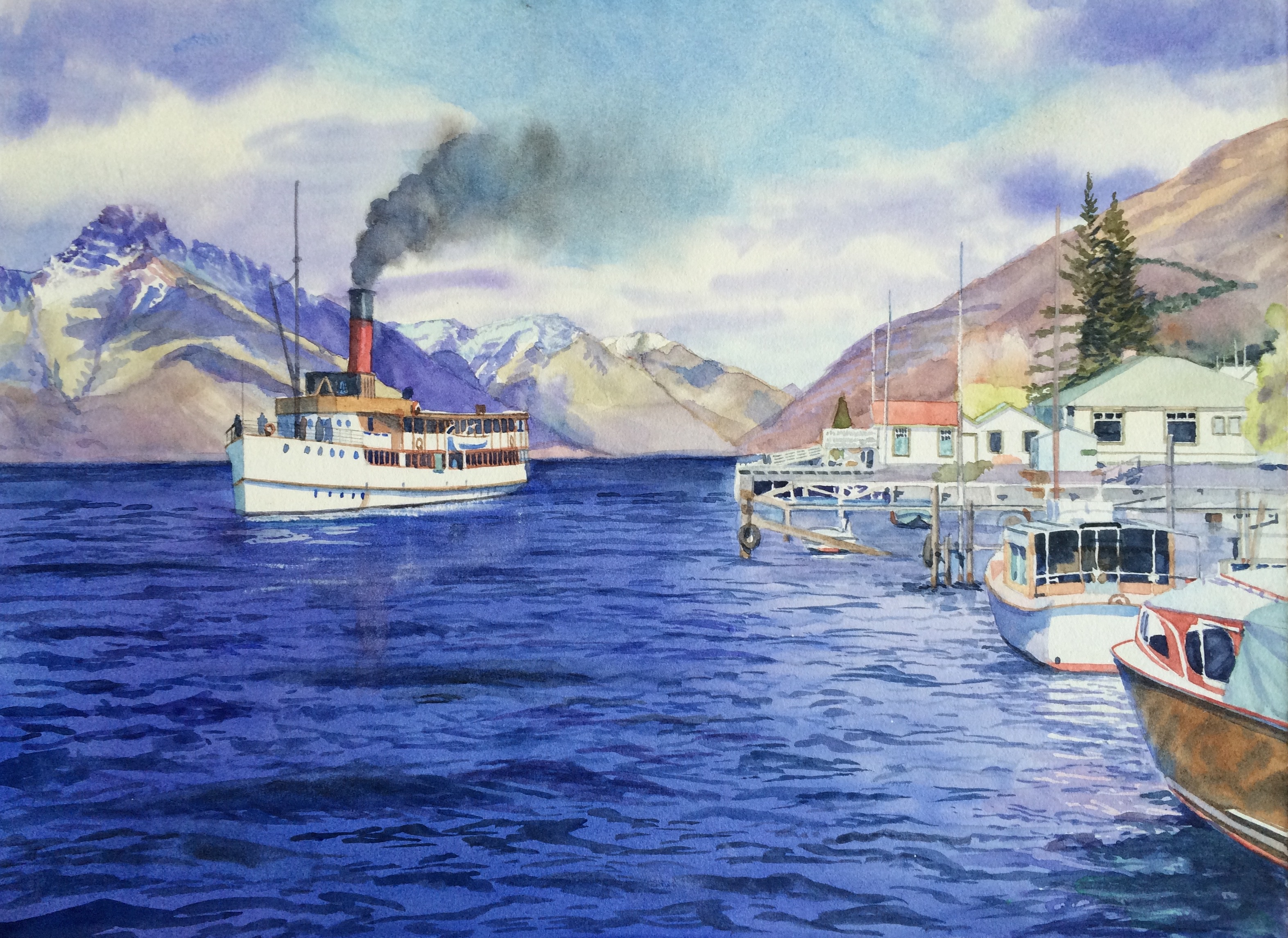 New Zealand Steamer