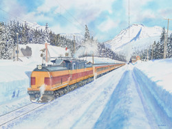 Ski Train at Hyak