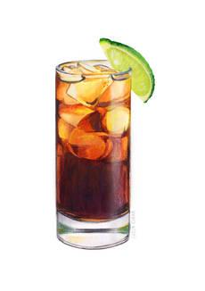 lorincinar_inktober_cocktail_cuba_libre.
