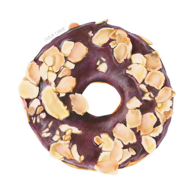 Lorin_cinar_Mixed_Media_Donut_for_websit