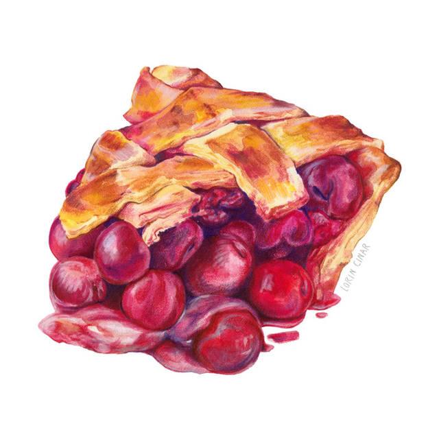Lorin_Cinar_Mixed_Media_Cherry_Pie_Websi