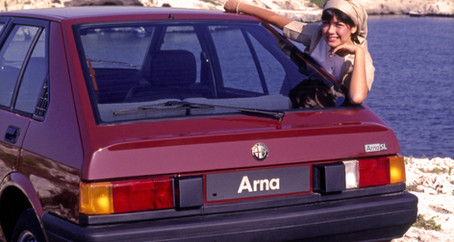 Book: Alfa Romeo Arna - The True Story 1980-1987