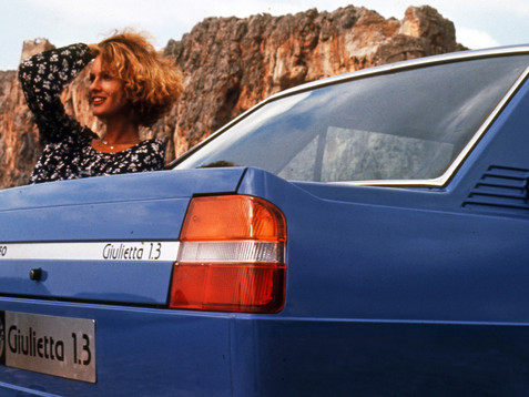 Book: Alfa Romeo Giulietta - The Story 1977-1985