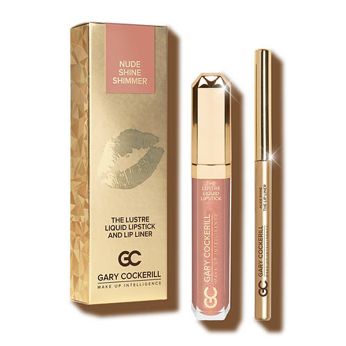 THE LUSTRE LIQUID LIPSTICK AND LIP LINER - NUDE SHIMMER