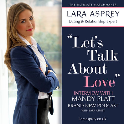 lara asprey lets talk advert MANDY PLATT