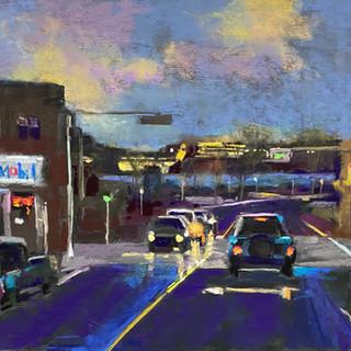 Madison Avenue Sturgeon Bay, Pastel - 10x12 (18x20)