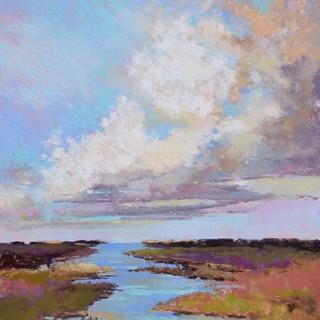 Clouds Over Reiboldt Creek (SOLD)
