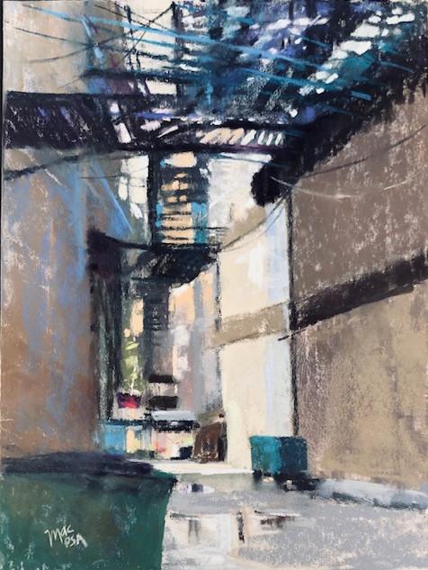 Urban Alley (9x12)