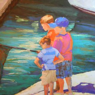 Boys On The Alibi Dock (SOLD)