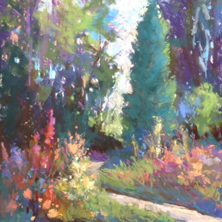 July in the Garden (SOLD)