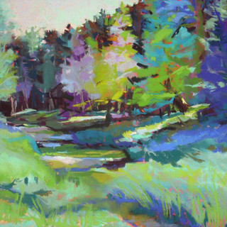 Early Morning at Reibolt's Creek (SOLD)