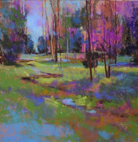 Spring at Heins Creek (11x11)