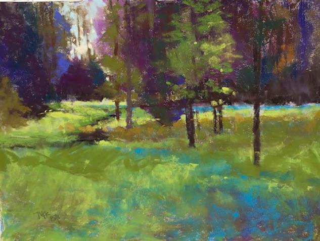 Heins Creek Afternoon (9x12)