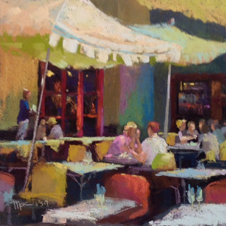Cafe Conversation (SOLD)