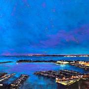 Evening at McKinley Marina (SOLD)