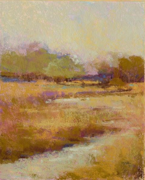 Marsh Gold, Pastel (10.5x8.5)
