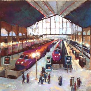 Gare du Nord Paris (SOLD)