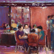 Cafe Conversation II (SOLD)