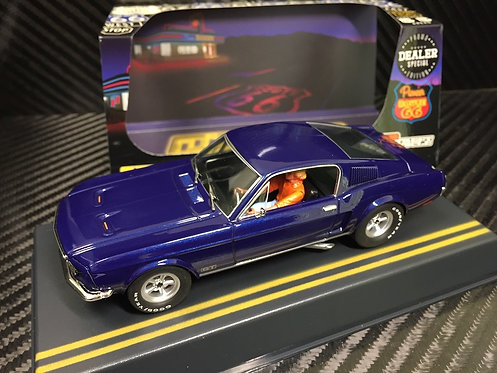 P055-DS Pioneer Mustang Fastback GT, Midnight Blue, 'Route 66'