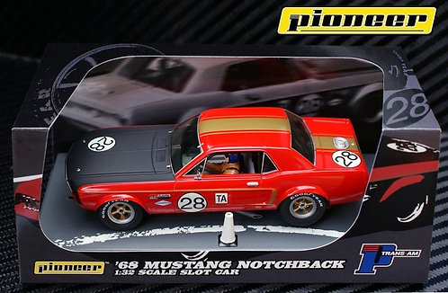 P039 Pioneer Mustang 1968 Notchback Trans-Am #28,'Dean Gregson'