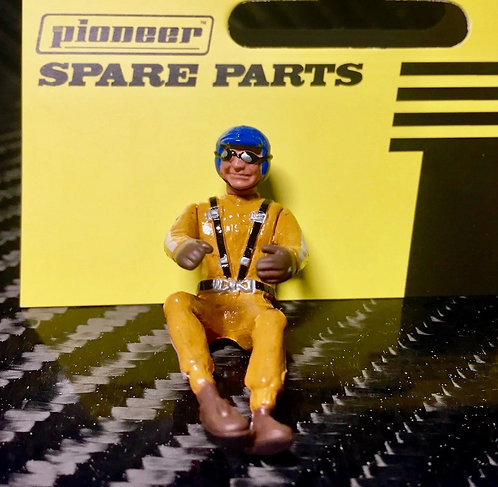 Pioneer Slot Car Painted Driver Figure - FD201545