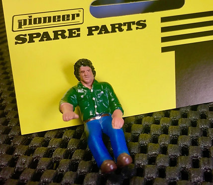 Pioneer Slot Car Painted Passenger Figure - FP203401