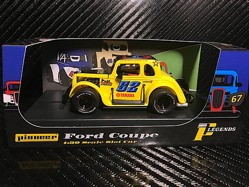 P068 Pioneer Legends Racer, '34 Ford Coupe, Yellow #52