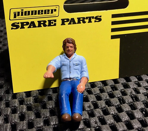 Pioneer Slot Car Painted 'Luke' Passenger Figure - FP203402