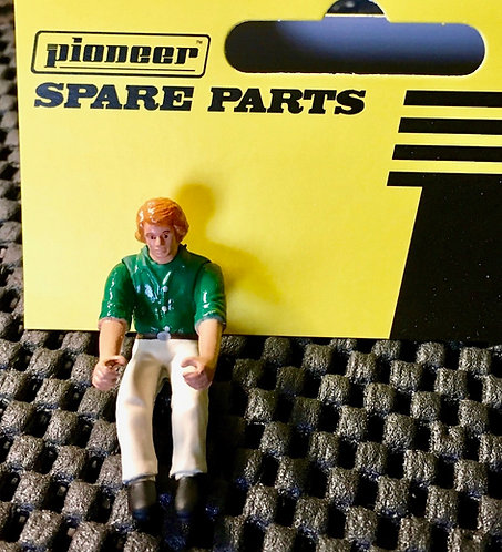 Pioneer Slot Car Painted Street Driver Figure - FD203435