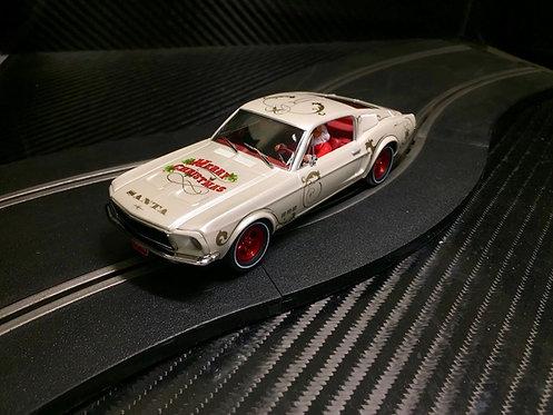 P071 Pioneer Mustang 390 GT 'Santa's 'Stang' Buttermilk White
